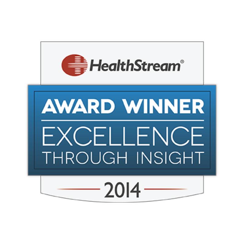 2014 Healthstream award