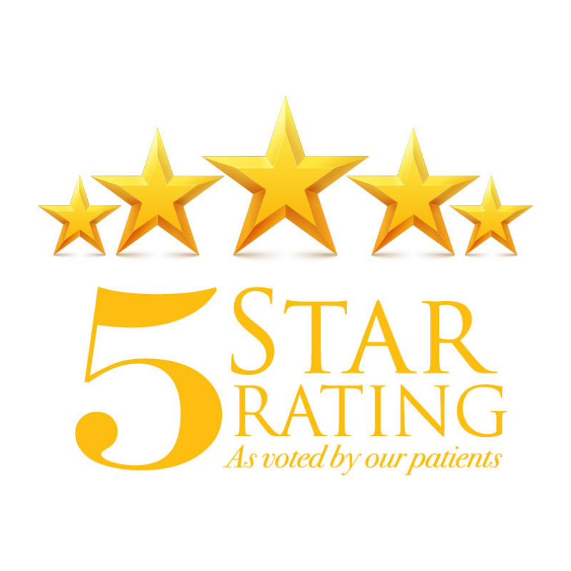 5 Star Rating Seal