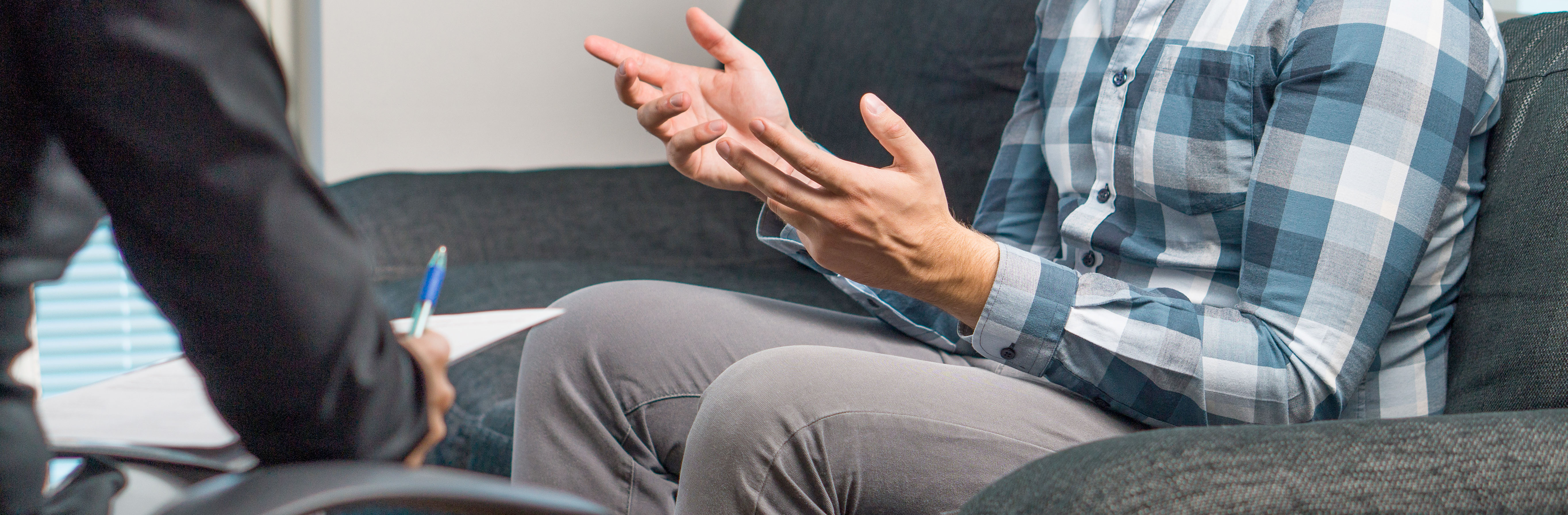 man-talking-to-pelvic-health-therapist