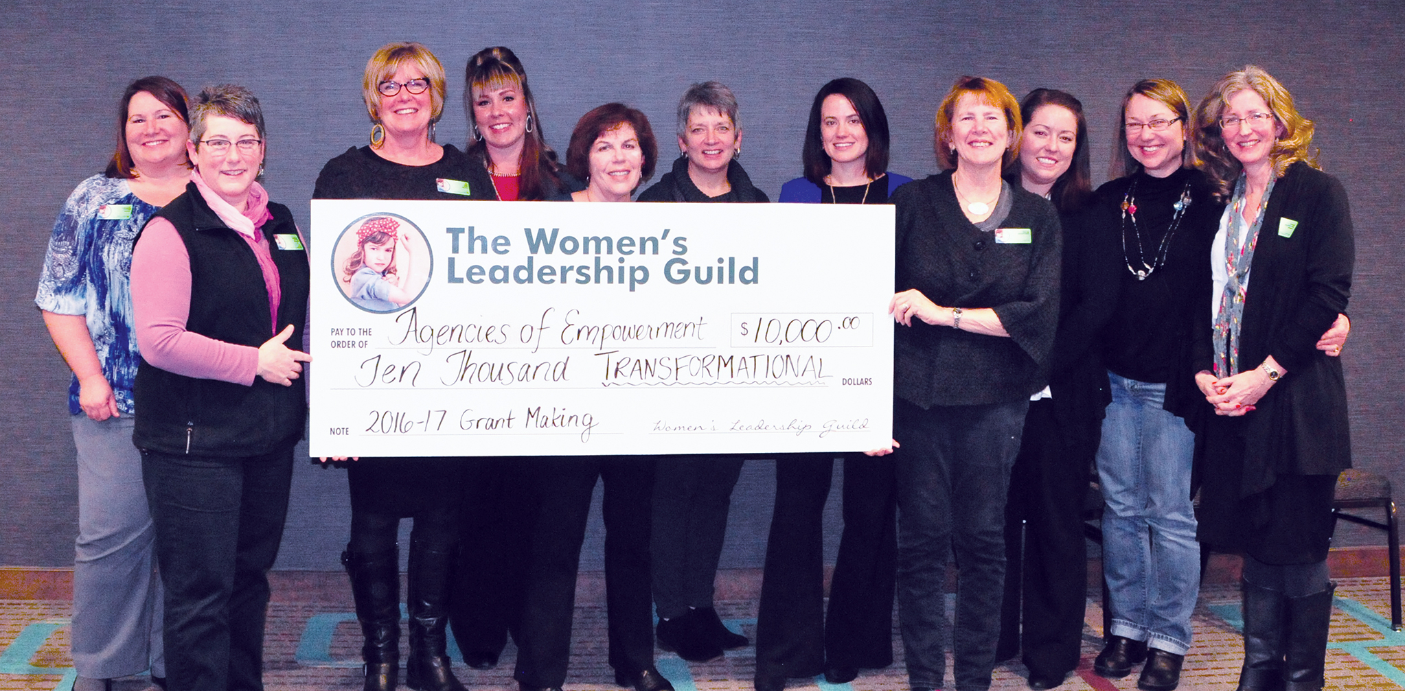 Women's Leadership Guild Passes $100,000 in fundraising