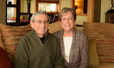 Why Jack and BettyJo Hilliard Give: