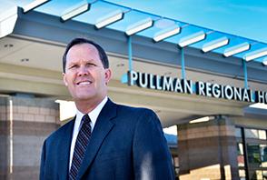 Scott Adams, Pullman Regional Hospital CEO