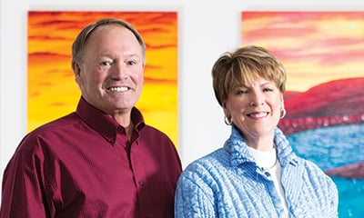 Endowment Steering Committee Co-Chairs Mike Sodorff and Carol Chipman